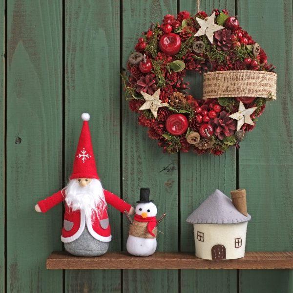 Christmas Wreath-京都の総合卸商社 仕入れは株式会社ナノプランへ-